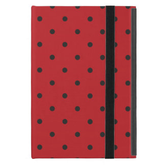 Fifties Style Red Polka Dot iPad Mini Cover