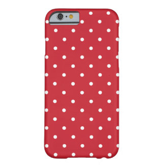 Fifties Style Red Polka Dot iPhone 6 case iPhone 6 Case