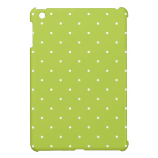 Fifties Style Tender Shoots Green Polka Dot Cover For The iPad Mini