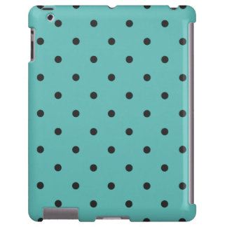 Fifties Style Turquoise Polka Dot iPad 2/3/4 Case