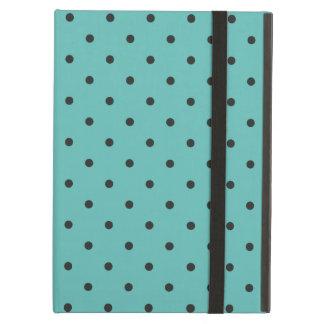 Fifties Style Turquoise Polka Dot iPad Air Case