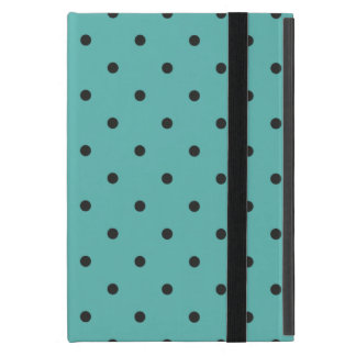 Fifties Style Turquoise Polka Dot iPad Mini Covers