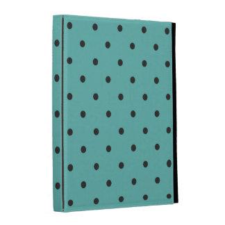 Fifties Style Turquoise Polka Dot iPad Case