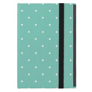 Fifties Style Turquoise Polka Dot Covers For iPad Mini