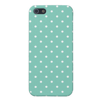 Fifties Style Turquoise Polka Dot iPhone 5/5S Case