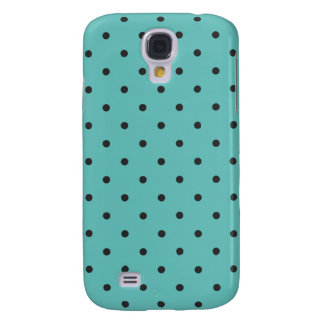 Fifties Style Turquoise Polka Dot Samsung S4 Case