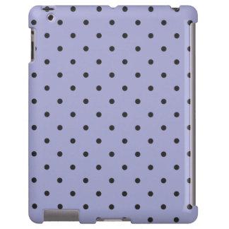 Fifties Style Violet Polka Dot iPad 2/3/4 Case