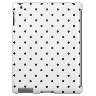 Fifties Style White Polka Dot iPad 2/3/4 Case
