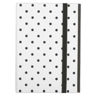 Fifties Style White Polka Dot iPad Air Case