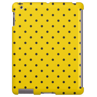 Fifties Style Yellow Polka Dot iPad 2/3/4 Case