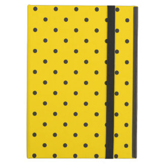 Fifties Style Yellow Polka Dot iPad Air Case