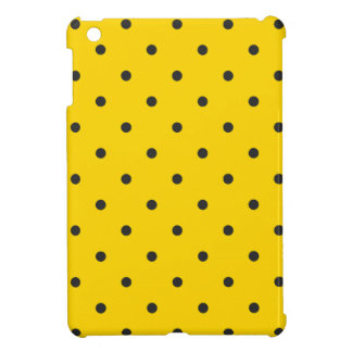 Fifties Style Yellow Polka Dot iPad Mini Covers