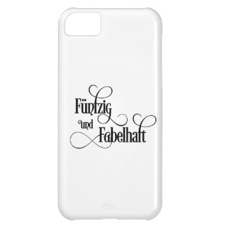 fiftieth birthday iPhone 5C case