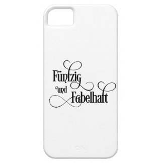 fiftieth birthday iPhone SE/5/5s case