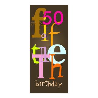 Fiftieth Birthday Party Invitations