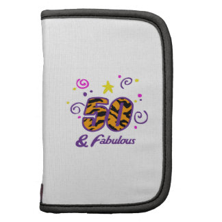 FIFTY AND FABULOUS PLANNERS