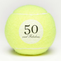 Fifty and Fabulous Tennis Balls