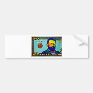 Fifty Bucks by Piliero Bumper Sticker