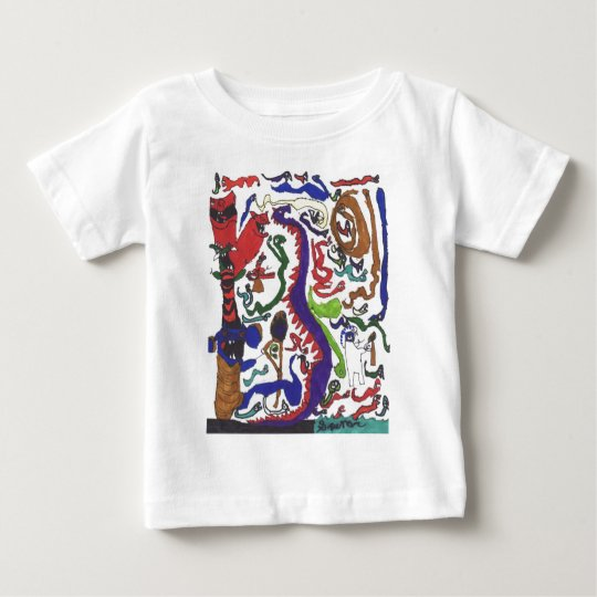 Fifty dragons schwag baby T-Shirt
