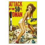 Fifty Foot Alien Women Dry Erase Whiteboards