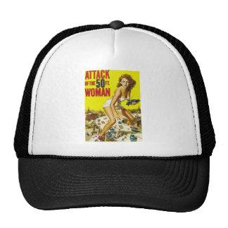 Fifty Foot Alien Women Trucker Hats