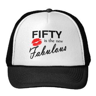 Fifty Is The New Fabulous Trucker Hat