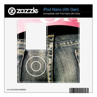 Fifty Percent iPod Nano 4G Skins
