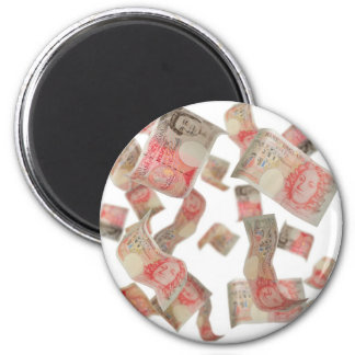 fifty pound notes magnet