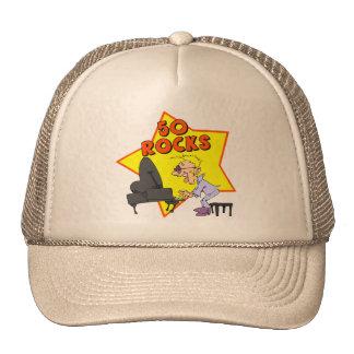 Fifty Rocks 50th Birthday Gifts Trucker Hat