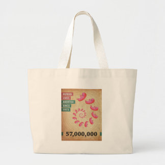 Fifty Seven Million Abortions Canvas Bags