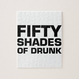 Fifty Shades of Drunk Jigsaw Puzzle