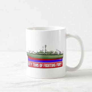 Fifty Tons of Fighting Fury Classic White Coffee Mug