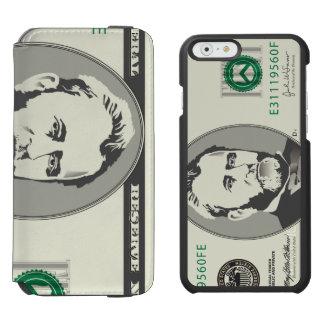 Fifty US $ Dollar Money Banknote Incipio Watson™ iPhone 6 Wallet Case