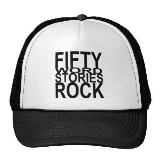 Fifty Word Stories Rock Trucker Hat
