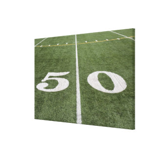 Fifty yard line canvas print