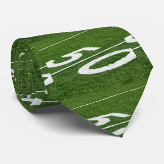 Fifty Yard Line Football Neck Tie