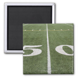 Fifty yard line magnet