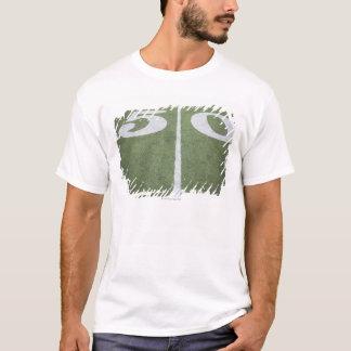 Fifty yard line on sports field T-Shirt