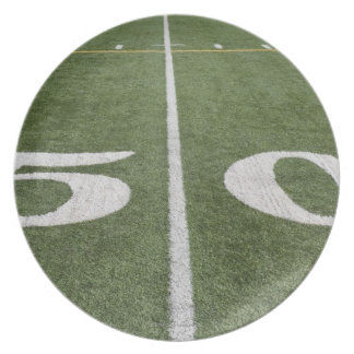 Fifty yard line plate