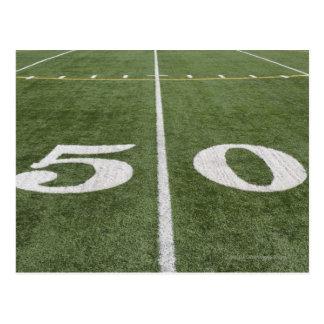 Fifty yard line postcard