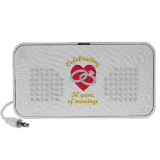 FIFTY YEARS MARRIAGE MP3 SPEAKERS