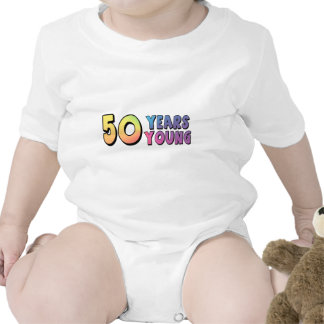 Fifty Years Young 50th Birthday Gifts Tee Shirts