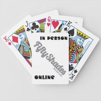 FiftyShades Wear Bicycle Playing Cards