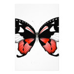fig 4 Red Butterfly by tony fernandes Stationery