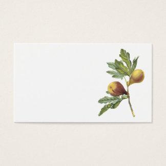 fig(Ficus violacea) by Redouté Business Card