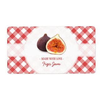 Fig Jam label