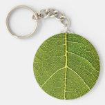 Fig Leaf Close-up Key Chain