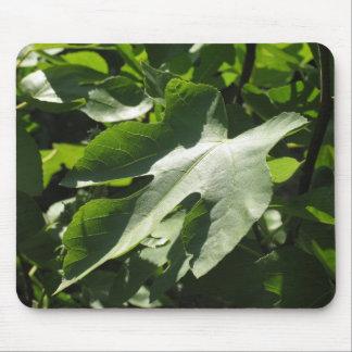 Fig Leaf Mouse Pad