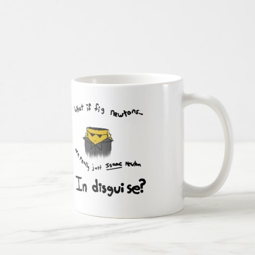 Fig Newtons Coffee Mugs