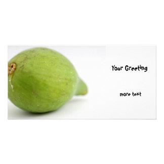 Fig Customized Photo Card